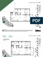 Galleries Floorplans & Pricelist