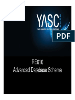 RE610 Adv DB Schema Ppt