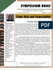 Crime Risk and Vulnerability
