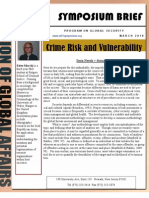 Crime Risk and Vulnerability