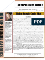Global Supply Chain Risk