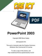 PowerPoint 2003 for IGCSE ICT