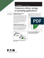 VFD Pumping Energy Savings