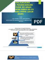 Ke Arah Perubahan Iklim Sekolah Menjelang PPPM(2016-2020)
