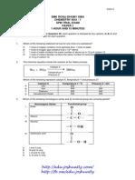 Trial Exam SPM