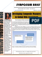 Developing Composite Measures in Global Risk Assessment