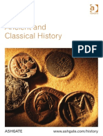 Ancient and Classical History 2015
