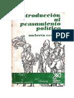 Introducción Al Pensamiento Político Cerroni Umberto