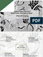 Proposal Pagelaran Budaya Utk Al Husein As