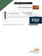 LPDP EduFair 2015