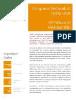 ENoLL 10th Wave Membership Brochure