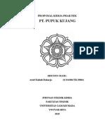 Proposal KP Pupuk Kujang