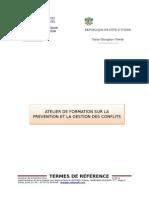 TDR Formation en Gestion de Conflits 3