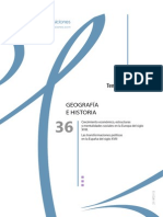 Tema 36 Oposiciones Secundaria Geografia