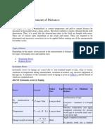 2. Errors in Measurement of Distance
