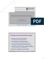 EffectivePPTdesign Handout
