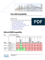 Cisco ASA Compatibility
