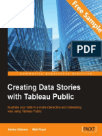 Creating Data Stories with Tableau Public - Sample Chapter