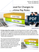 Plan Ahead for Changes to Overtime Pay Rules