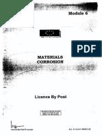 1 Materials Corrosion