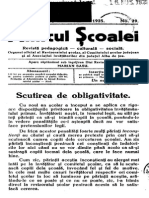Amicul Scoalei Nr 29, 1925
