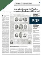 Hace 100 años se iniciaba con La Palabra lo que hoy continúa a diario con El Litoral
