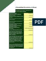 Calcular Rentabilidad Economica y Financiera
