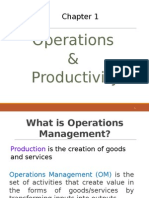 1.0 Operations Productivity