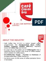 Cafe Coffee Day Presentation