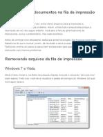 Como Cancelar Documentos Na Fila de Impressão