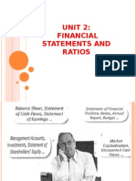 Unit_2_Financial Statement and Ratio