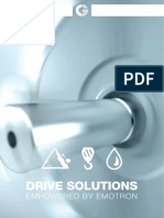 Application Brochure Drive Solutions