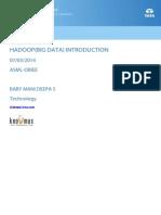Hadoop(Big Data)
