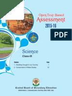 OTBA Science Theme Class 9