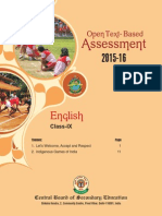 OTBA English Theme Class 9