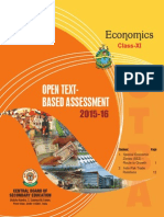 OTBA Economics Theme Class 11