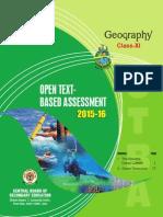 OTBA Geography Theme Class 11