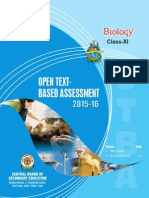 OTBA Biology Theme Class 11