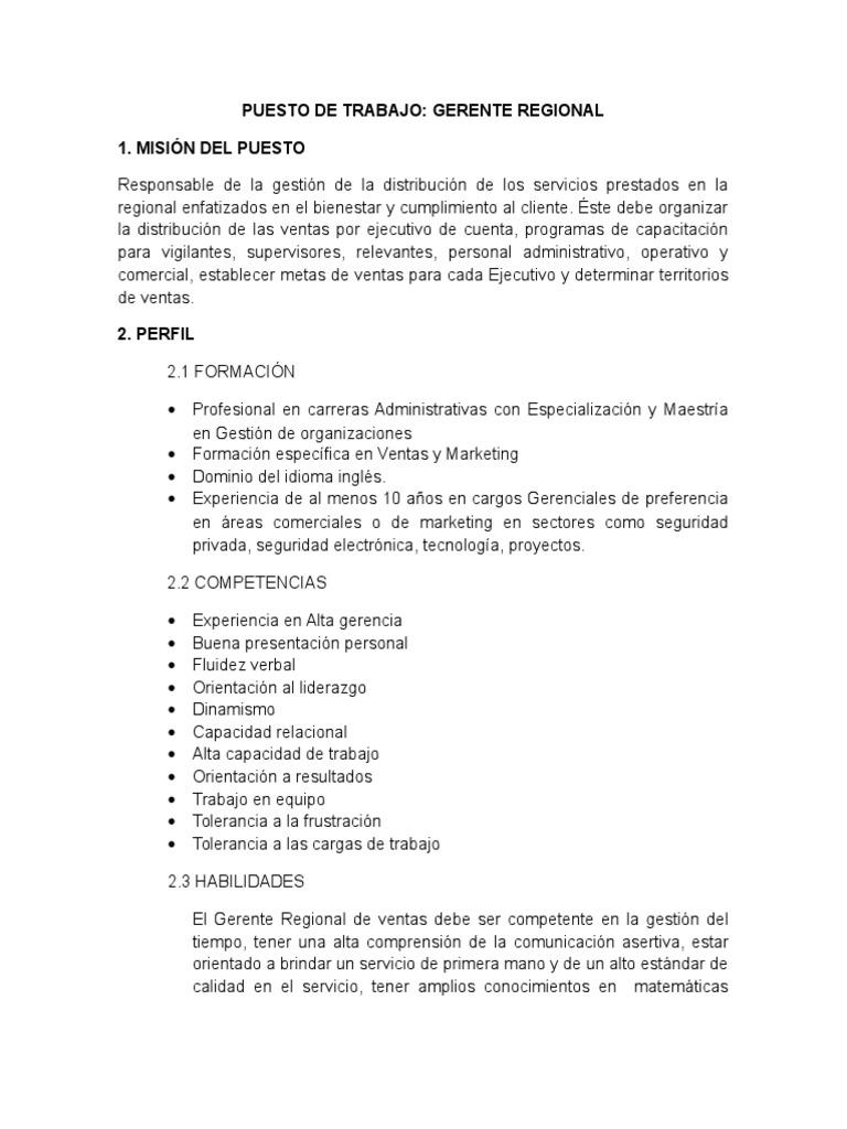 Excelente Ejemplos De Perfil Ejecutivo De Ventas Foto - Ejemplo De ...