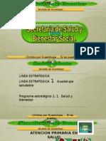 Rendición de cuentas Secretaria de Salud y Bienestar Social