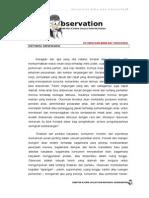 Metode Pengumpulan Data Observasi