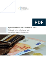 Payment Behaviour in Germany in 2014