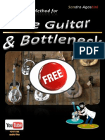 Method for Slide Guitar Bottleneck