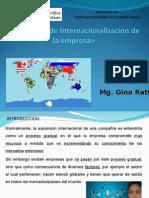 3.- Proceso de Internacionalizacion de La Empresa