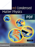 Advanced Condensed Matter Physics_Leonard M. Sander