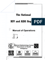 The National Hiv and Aids Registry Manual of Operations