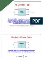 Electronics Decibel