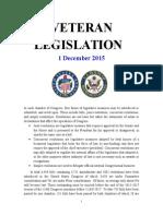 Veteran Legislation 151201