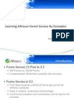 Learning Alfresco Forms Service by Examples