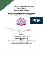 Seminar Synopsis Format